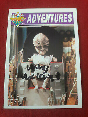 Doctor Who Trading Card Signed by Mitzi McKenzie