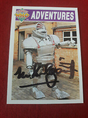 Doctor Who Trading Card Signed by Michael Kilgarriff