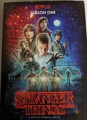 Stranger Things dvd, Season 1  Netflix