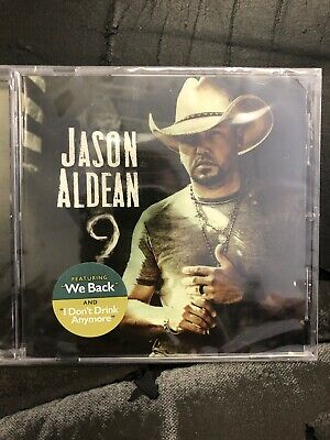 Jason Aldean 9 CD Album 2019 Physical Factory Sealed BRAND NEW Nine Imm. Ship