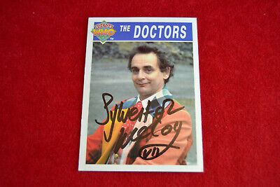 Doctor Who Trading Card Signed by Slyvester McCoy