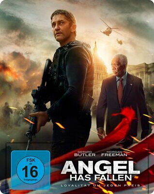 Angel Has Fallen - Steelbook - (Gerard Butler) # BLU-RAY-NEU