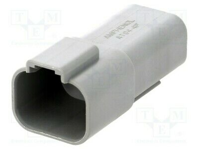 Terminal Connector: Leitung-Leitung at Male Plug Pin: 4 AT04-4P AUTOMOTIVE-S