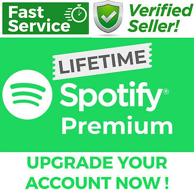 Spotify 🎧 Premium | Lifetime Upgrade Or Buy New Account | Secure Service ✅
