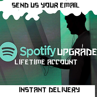Spotify PREMIUM 💣 Lifetime Upgrade 💯 All Countries 🌍 Instant Delivery ✅ 1Hour