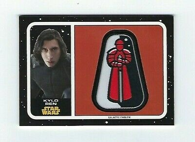 2017 Star Wars Journey To The Last Jedi Kylo Ren Emblem Patch Praetorian Guard