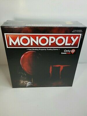 Monopoly IT Board Game with Exclusive Bev/'s Key Game Token