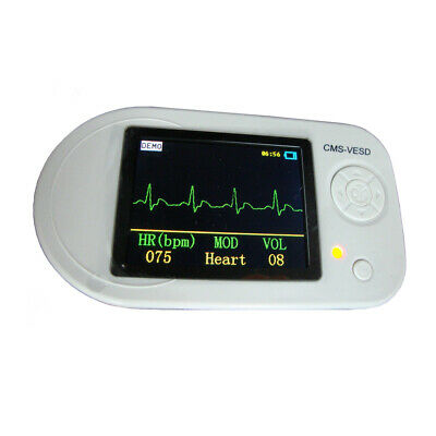 CMS-VESD Multi-functional Visual Stethoscope with SpO2 Heart Rate, ECG, Oximeter