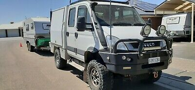Iveco Daily 4X4 With Customised Canopy And Upgrades