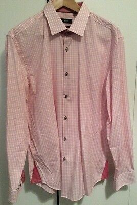 Hugo Boss Slim Fit Shirt Size 17 New Without Tags