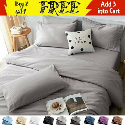 """1800 Count Deluxe 6-Piece Dobby Stripe Ultra Soft 14/"""" Deep Pocket Bed Sheet Set"""