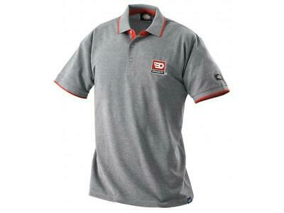 Facom Workwear Mechanics Grey Polo Shirt T Shirt VP.POLOGR-M