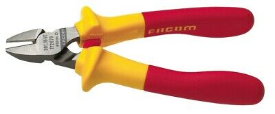 Facom 1000 Volt Insulated Electricians Diagonal Cutter Pliers 391.16VE