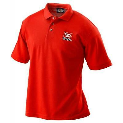 Facom Workwear Mechanics Red Polo Shirt T Shirt VP.POLORED-M
