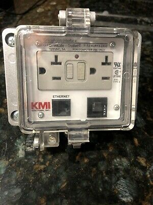 Kmi Systems Inc Gfci Inside - Outside  Outlet