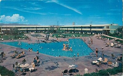 1958 The Swimming Pool at the Dunes Hotel Casino, Las Vegas, Nevada Postcard