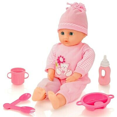 Molly Dolly Sweet Sounds Baby Talking Doll Accessories Kids Role Play Playset