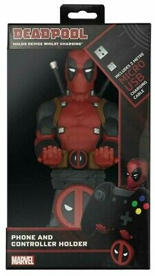 Deadpool Cable Guy Marvel Controller PS4 Xbox One Phone Holder Gaming NEW Figure