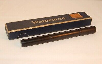 Vintage Waterman's Ideal 45  Safety Fountain Pen- Bchr - Boxed- New Seals - Rare