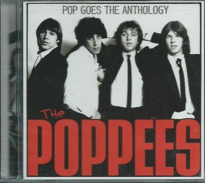 THE POPPEES - POP GOES THE ANTHOLOGY 70s NYC POP SINGLES LIVE DEMOS SLD BOMP CD