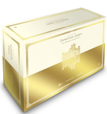 Downton Abbey: The Complete Series - Limited Edition DVD Set + Costers & Booklet