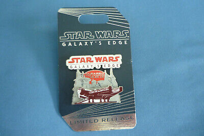 STAR WARS   Disney Pin  GALAXYS EDGE Cleared LANDING 8-29-19  2019 L R NEW