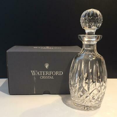 Up for sale is WATERFORD LISMORE CRYSTAL SPIRIT DECANTER MULTI-SIDED STOPPER MI