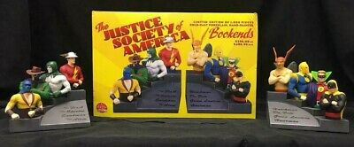 Justice Society Of America (Jsa) Bookends! Dc Limited To 1000! Golden Age