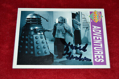 Doctor Who Trading Card Signed by David Graham