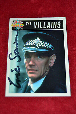 Doctor Who Trading Card Signed by Eric Saward