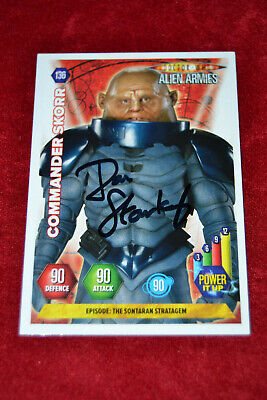 Doctor Who Trading Card Signed by Dan Starkey