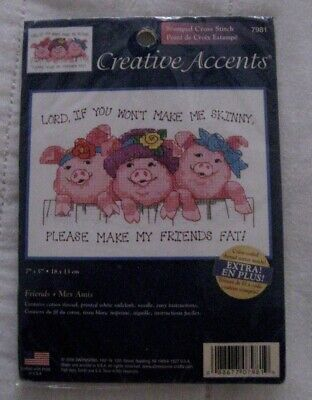 2006 Creative Accents Stamped Cross Stitch Kit #7981