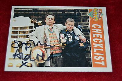 Doctor Who Trading Card Signed by Sophie Aldred