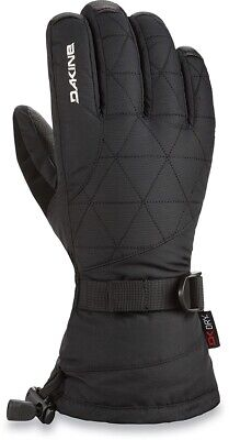Dakine Womens Leather Camino Snowboard Gloves Medium Black with Liners