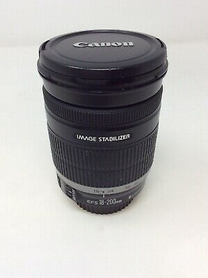 Canon EF-S 18 mm - 200 mm F/3.5-5.6 EF-S IS For Canon - Black G-19125-186-016
