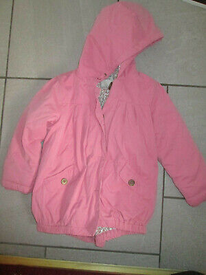 girls pink coat from Next age 4-5