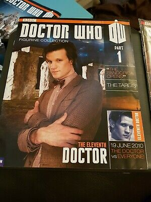 Doctor Who Figurine Collection Part 1 the eleventh doctor Used