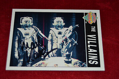 Doctor Who Trading Card Signed by Mark Hardy