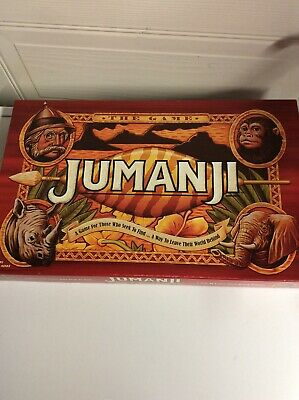 Jumanji The Game Board Game 1998 Missing 2 Player Tokens