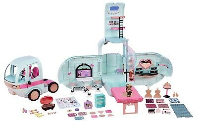 LOL Surprise! 2-in-1 Glamper Fashion Camper w/ 55+ Surprises Exclusive Doll -NEW
