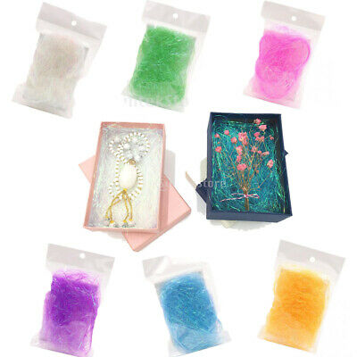 8g Iridescent Shreds Wedding Gift Box Filler DIY Flower Bouquet Package Filling