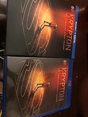 Krypton The Complete First Season Bluray