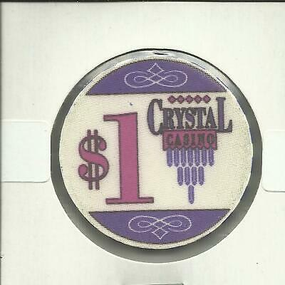 $1 Crystal Casino  Chip- Canada