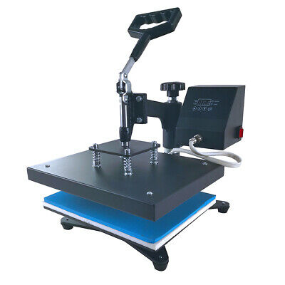 "9""x12"" SWING AWAY Heat Press Machine Sublimation for T-shirt Printing Cloth US"