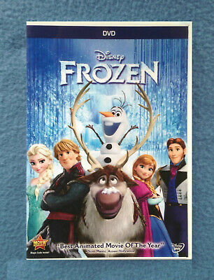 Dvd Disney Frozen Family And Children's Movie Rated Pg