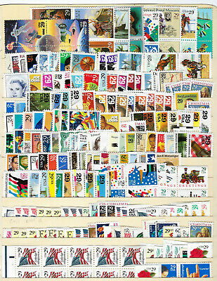 347 US MINT unused postage 29c stamps from collection MNH, Face Value $100.63