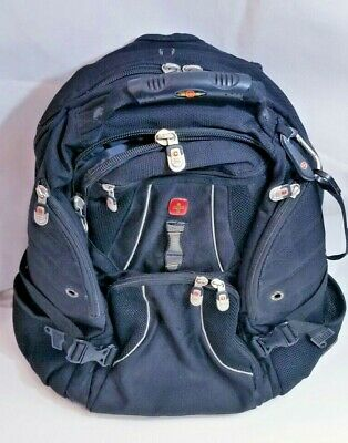 """Swiss Gear Backpack Briefcase Travel carry on luggage + 17"""" Labtop mesh bag"""
