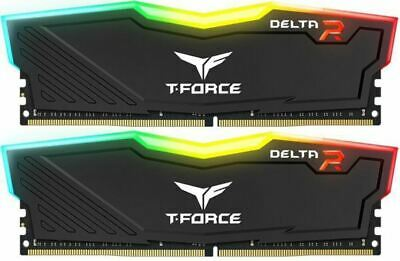 Team Delta RGB 16GB (2x8GB) DDR4 3000MHz Black