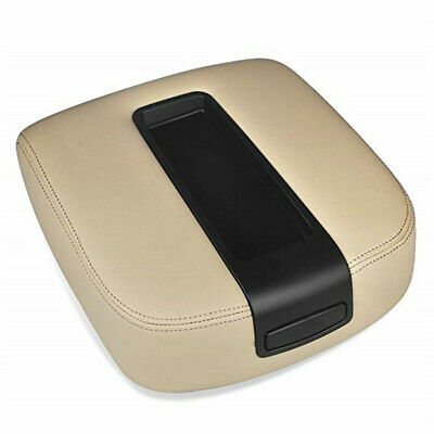 Fits 07-13 Chevy Tahoe, Suburban, Yukon Leather Console Lid Armrest Cover