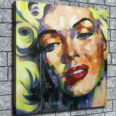 "12""x12"" Abstract Monroe Avatar HD Canvas prints Home Room Decor Wall art Picture"